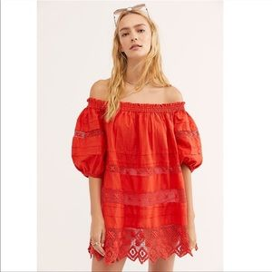 Free People Sounds Of Summer Tunic Dress